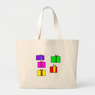 A present for each one of the family large tote bag