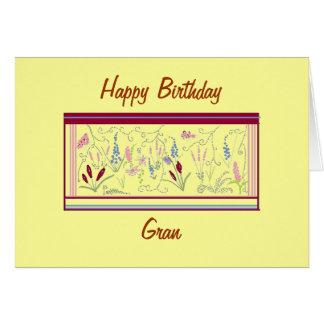 A pretty birthday card for Gran