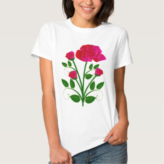 A Pretty Red Rose T-shirt