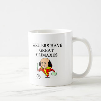 a pun for writers basic white mug