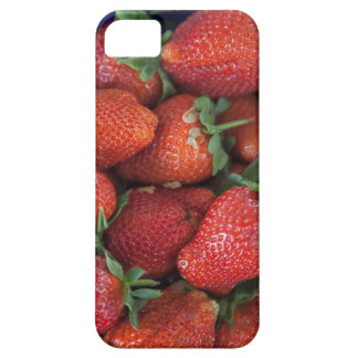 a punnet of ripe fresh strawberries for sale in iPhone 5 cases