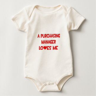 A Purchasing Manager Loves Me Baby Bodysuit