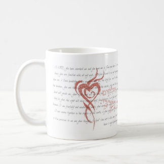 A Pure Heart - Psalm 139 & Psalm 51:10 Coffee Mug