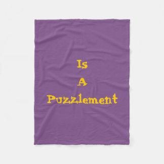A Puzzlement Blanket