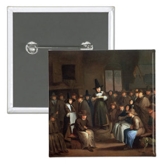 A Quakers Meeting 15 Cm Square Badge