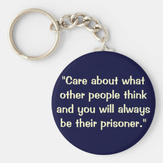 A quote key ring