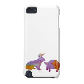 A rabbit and a tortoise iPod touch (5th generation) case