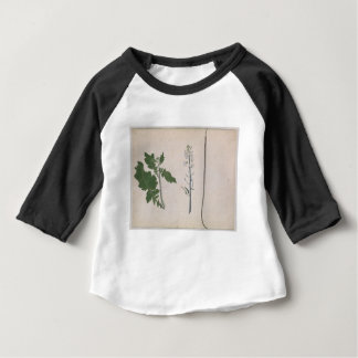 A Radish Plant, Seed, and Flower Baby T-Shirt