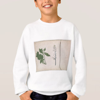 A Radish Plant, Seed, and Flower Sweatshirt