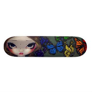 A Rainbow Of Butterflies Fairy Skateboard