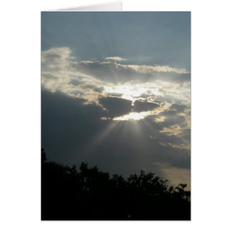 A Ray of Hope Greeting Card