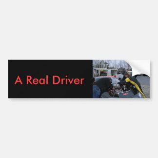 A Real Driver Bumper Sticker