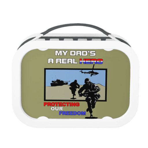 A Real Hero - Military Lunch Box
