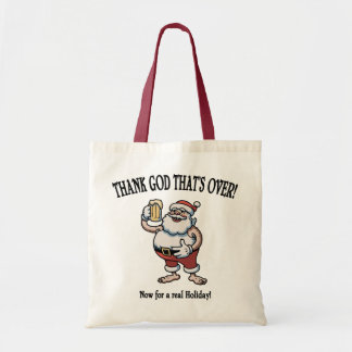 A Real Holiday Canvas Bags