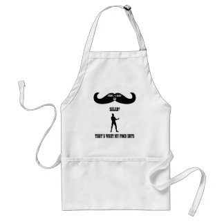 A Real Overly Manly Man - Salad? Standard Apron