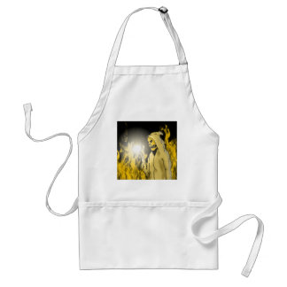 A Reaper in Hell (Gold) Aprons