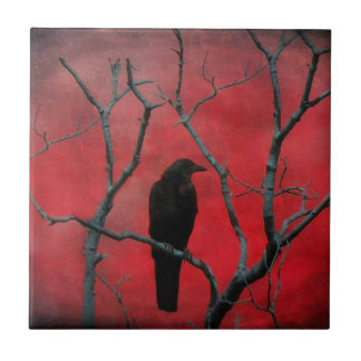A Red Night Tile