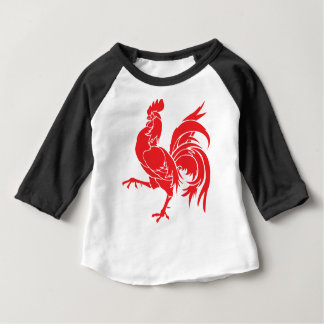A Red Rooster Baby T-Shirt