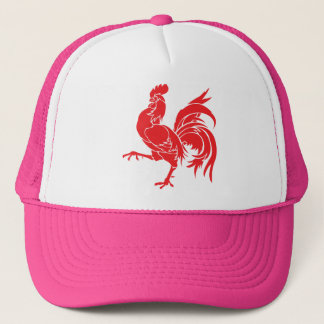 A Red Rooster Trucker Hat
