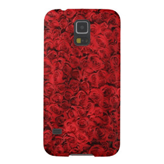 A red rose pattern Samsung Galaxy S 5 Phonecase Galaxy S5 Case