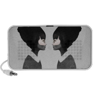 A Reflection Laptop Speaker