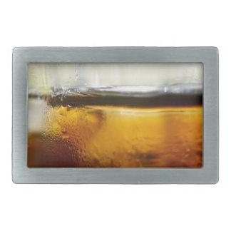 A Refreshing Iced Drink Rectangular Belt Buckles