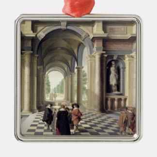 A Renaissance Hall Metal Ornament