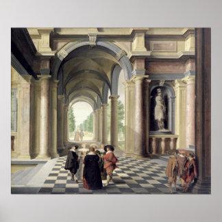 A Renaissance Hall Poster