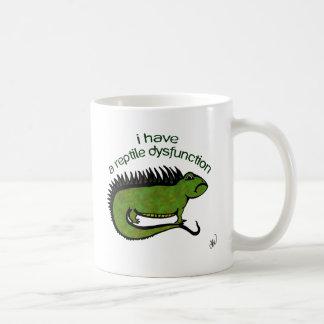 A Reptile Dysfunction Coffee Mug