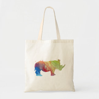 A rhino tote bag