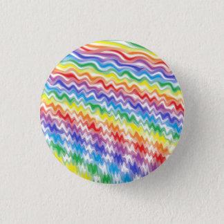 A Rhythmic Rainbow 3 Cm Round Badge
