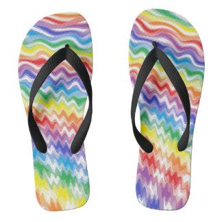 A Rhythmic Rainbow Thongs