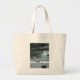 A River flowing Large Tote Bag