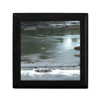 A River flowing Small Square Gift Box