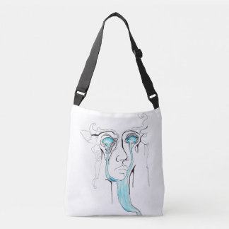 A River from Your Eyes Crossbody Bag