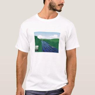 A river of music flows through the hills T-Shirt