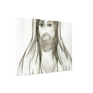 A Robed Jesus Canvas Print