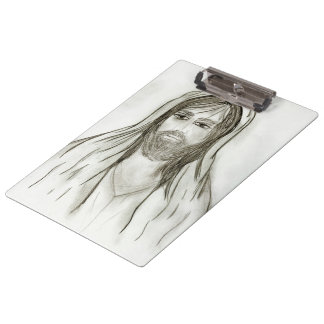 A Robed Jesus Clipboard