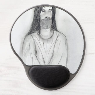 A Robed Jesus II Gel Mouse Pad