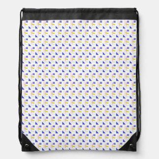 A Robot's Smile Drawstring Bag