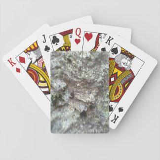 A Rock Poker Deck
