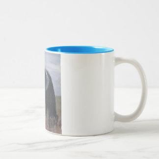 """""""A Rogue Elephant"""" Two Tone Mug"""