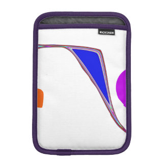 A Roller Coaster iPad Mini Sleeve