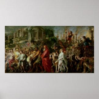 A Roman Triumph, c.1630 Poster