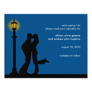 A Romantic Evening Save the Date Announcement