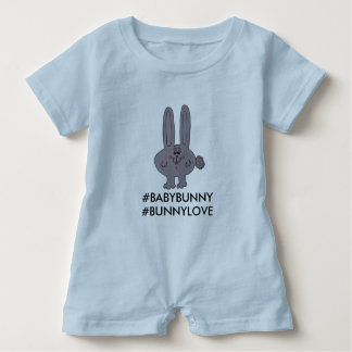 "A romper for your ""Baby Bunny"" Baby Bodysuit"
