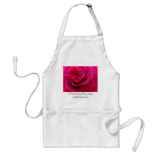 A Rose by any Other Name would be Grandma! Adult Apron