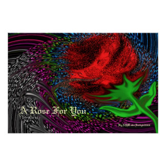 A Rose For You Poster