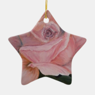 A Rose Is A Rose Christmas Ornament