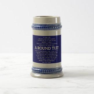 A Round Tuit Beer Stein